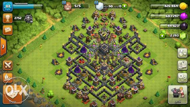 للبيع clash of clans