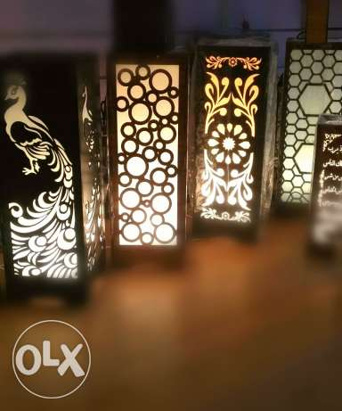 اباجورة تحفة light box