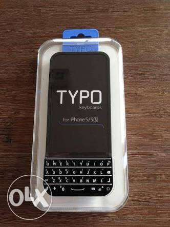 Typo - keyboard case for iPhone 5/5s/SE brand new