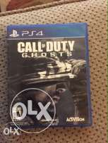 call of duty ghosts ps4 good condition