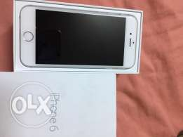 iphone 6 silver 128 gigaa كسر زيروو
