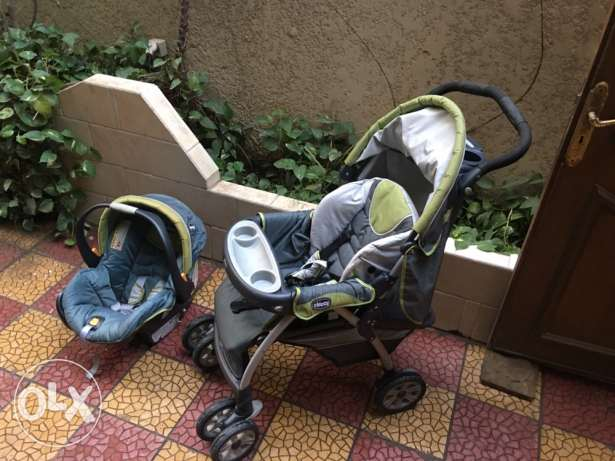 Stroller and Car seat SET الزمالك -  3
