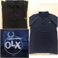 Original FredPerry men blue limited edition polo shirt