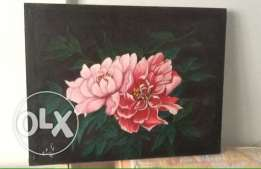 oil paintings on canvas