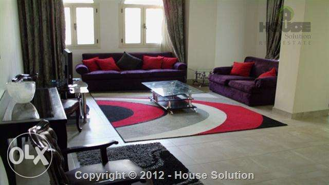 Ultra Modern Furnished Ground Floor With Garden For Rent In Maadi