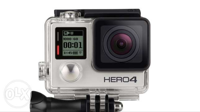 gopro hero 4 silver + 32 GB memory card