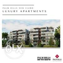 Apartment for sale in palm hills new Cairo 10% down payment