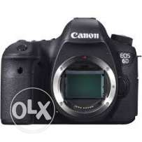 canon 6d with 2 lens