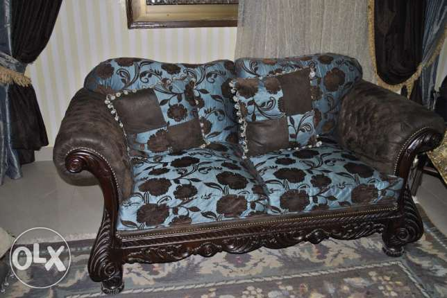 living room set of 5 pieces (2ntreh lel b3) مدينة نصر -  2