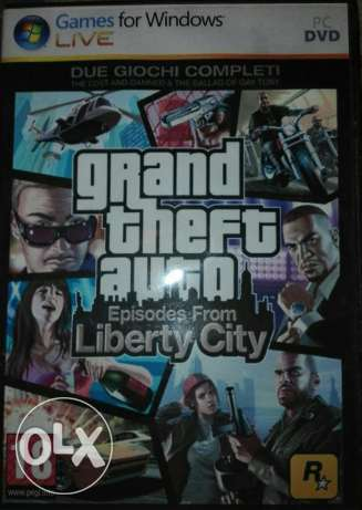 GTA Liberty City Pc DVD طنطا -  1