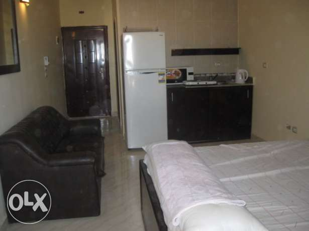 Studio in Hadaba, in compound with a sw. pool, sea view, 30 sqm