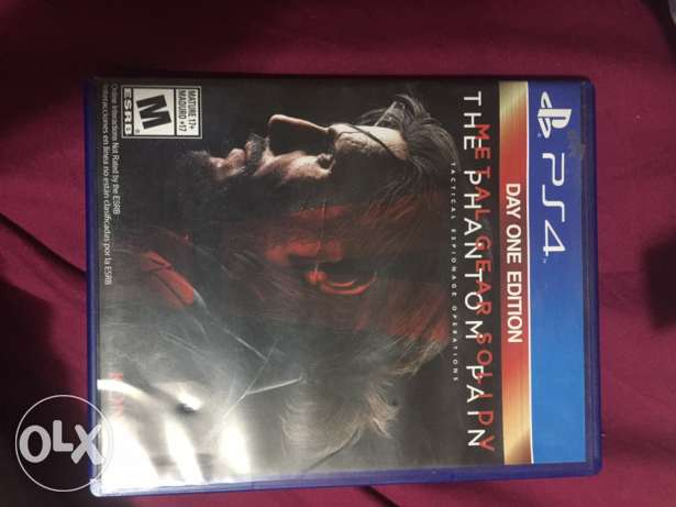 Metal gear the phantom pain for ps4 playstation 4