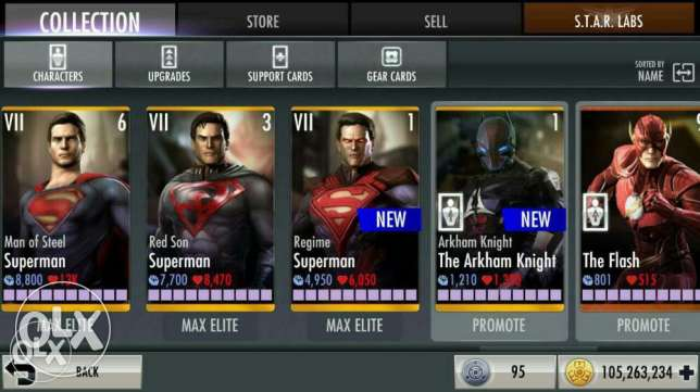 Recharging coins on injustice and all characters and mortal Kombat x