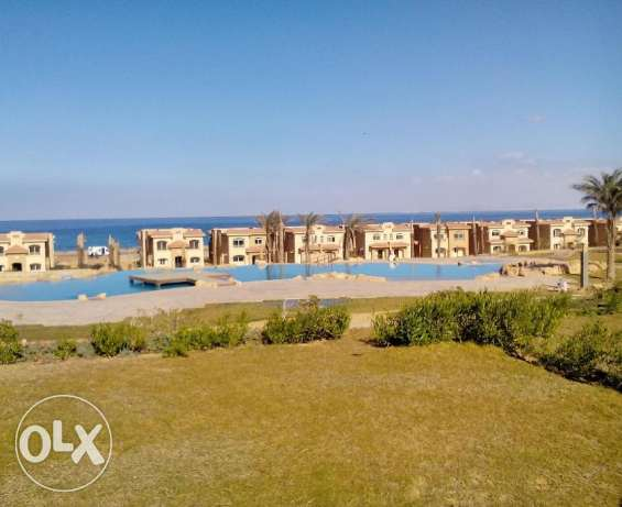 Standalone for sale in Telal elsokhna third row fron the sea