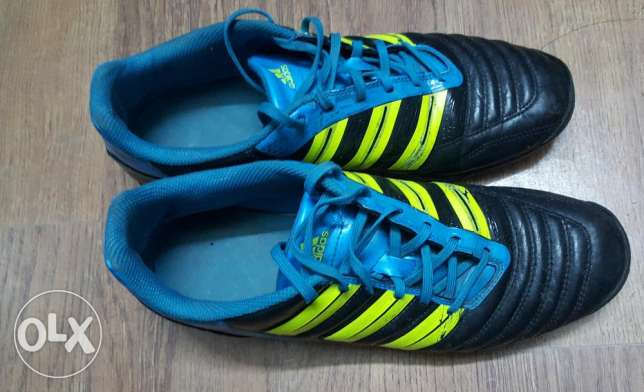 Original adidas adipower football shoes(tertan)