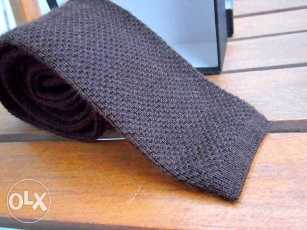 Brown Tie -Boss usa المعادي -  5