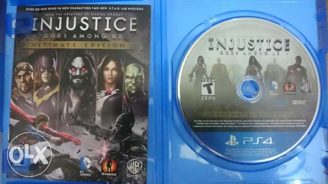 Injustice Trade b wwe
