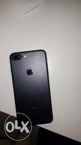 I phone 7 plus (matte balck) مدينة نصر -  1