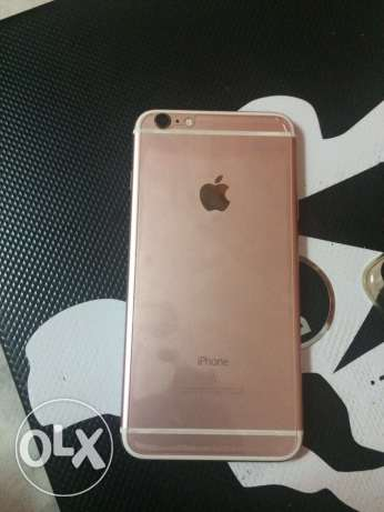 Iphone 6s plus 64 gega rose gold كسر زيرو