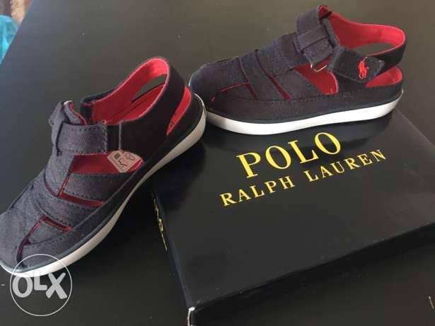 brand new polo sandals