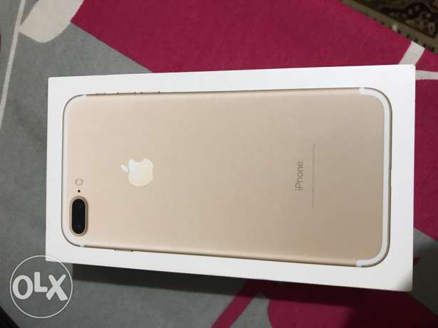 Iphone 7plus 32 gold