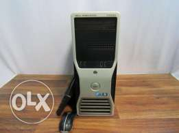 بحالة الزيرو//Dell t5500 xeon e5620 2cpu cash24m+ram24g