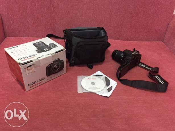 canon D 650 like Brand New !!