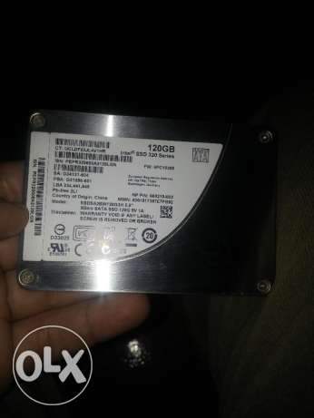 Intel Solid State Drive (SSD) 120GB SATA II 3Gb/s القاهرة -  1