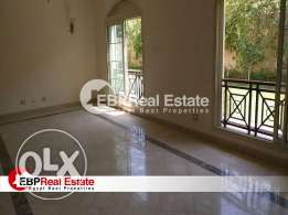 Apartment for rent in Al Dyar compound 220 meter with huge garden