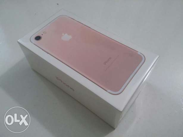 New | iPhone 7 32GB Rosegold | From KSA المنصورة -  1