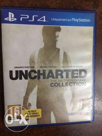 UNCHARTED collection R2