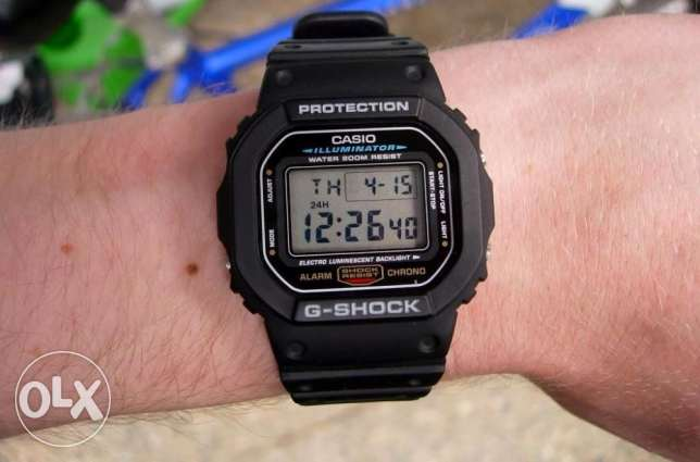Casio DW-5600E-1VDF G-Shock Rare Watch New وسط القاهرة -  7