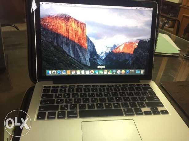 MacBook Pro 13 Retina /8 Giga ram/512 Giga hard/117 Cycle Count مصر الجديدة -  3