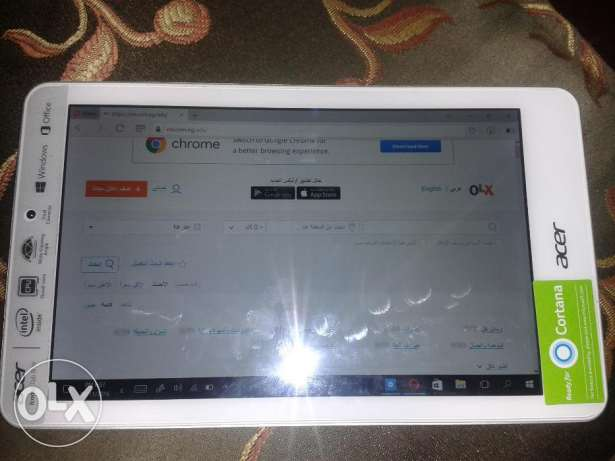 Acer Iconia Tab 8W in excellent conditions like new المرج -  1