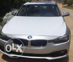 BMW 320 Exlusive 2017 zero silver color