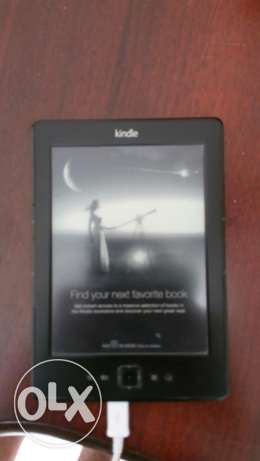 "AMAZON Kindle 4th Generation D01100 6"" Display 2GB Wi-Fi EBook Reader"