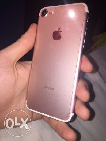 iPhone 7 32gb rose gold as new