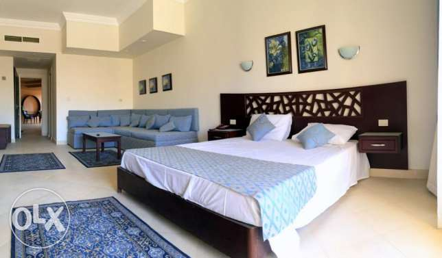 Studio in Sahl Hasheesh, in Resort 5*, sw. pool, beach. 54 sqm