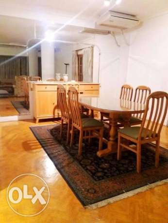 --flat in maadi for rent furnished 3 bedrooms المعادي -  4