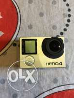 Gopro hero 4 with cover and usb charger only