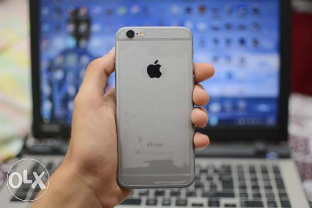 iphone 6 space grey 16gb like new with all accessories بنها -  3