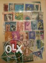 Old post stamp