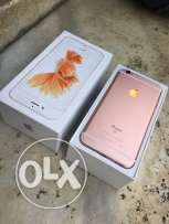 Iphone 6s 64G RoseAs New with all accories excellent condition
