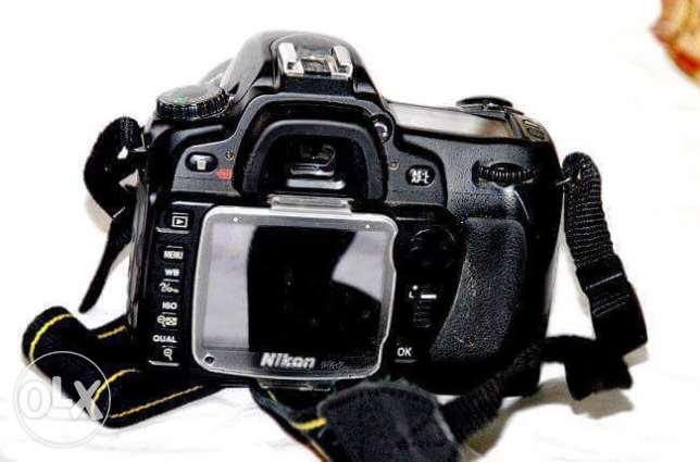 For sell Nikon D80 w lens 70-35mm w shutr 6k حدائق القبة -  3