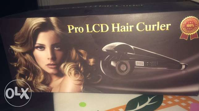 pro LCD hair curly