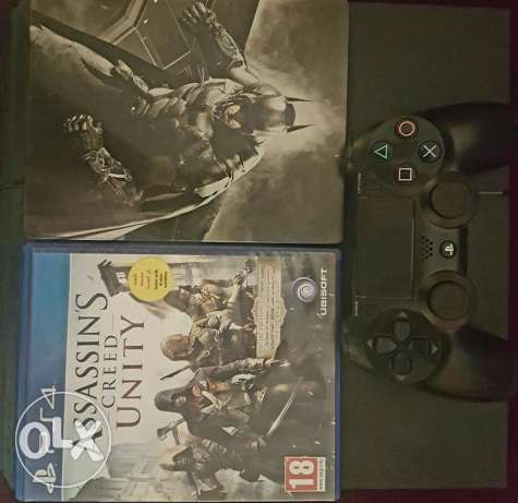PS4 + two games