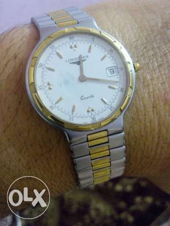 ساعة سويسري اصلي لونجين كوارتز Longines Conquest 161 Swiss 1640 كوارتز