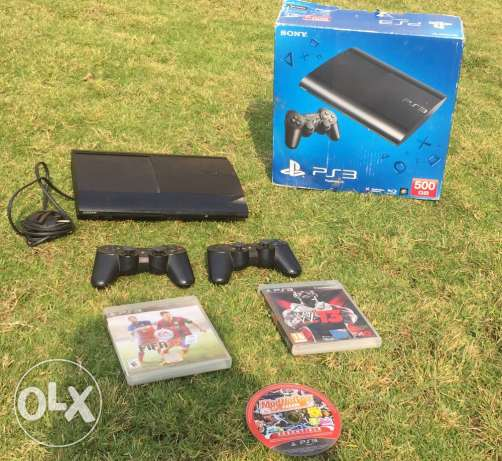 ps3 for sale with fifa15 and W'13 6 أكتوبر -  1