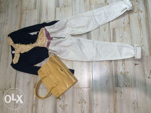 off white dress pants شيراتون -  1
