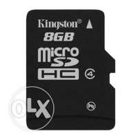 kingston 8Giga class4 + adapter